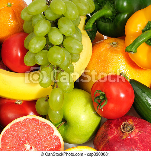 fresh fruits and vegetables - csp3300081