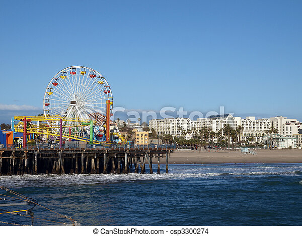 Santa Monica California - csp3300274