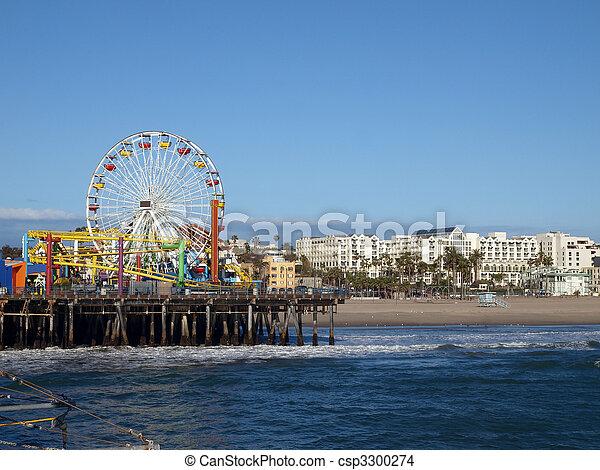 Santa Monica California - csp3300274
