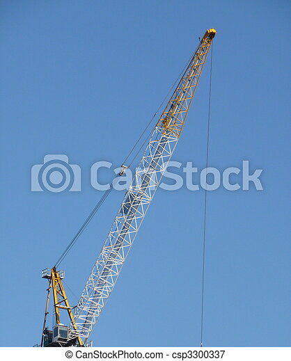 crane in NYC - csp3300337