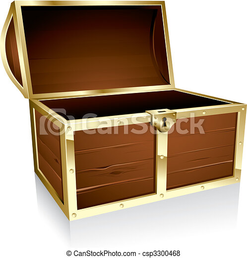 Treasure chest - csp3300468