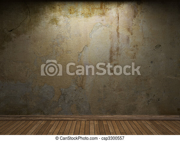 old concrete wall - csp3300557