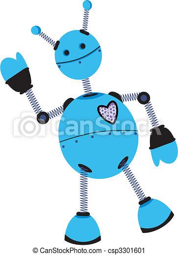Blue Purple Angled Robot Waves - csp3301601