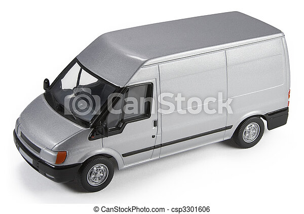 Commercial Van Model - csp3301606