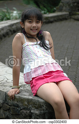 asian girls in the park