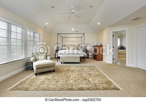 Photo de ma tre chambre coucher plateau plafond for Voir les chambres a coucher