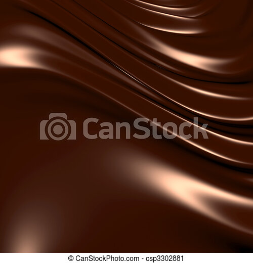 Abstract chocolate background - csp3302881