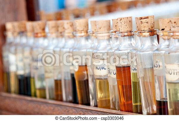 Aroma bottles - csp3303046