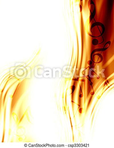 music background - csp3303421