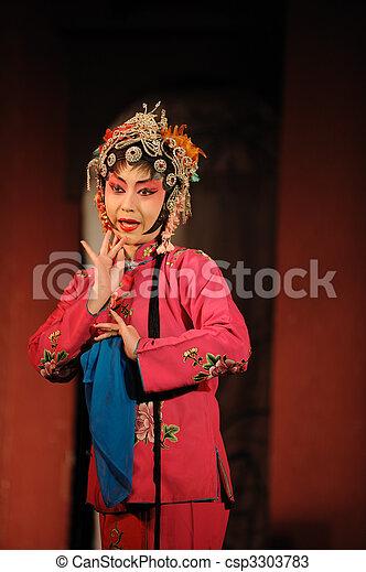 china opera Water Margin - csp3303783