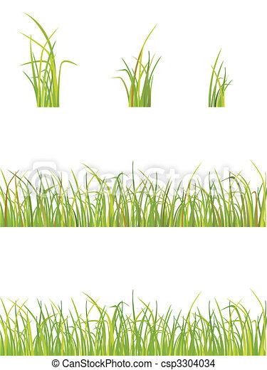 variation of grass  - csp3304034