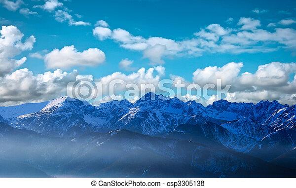 Remote mountains - csp3305138