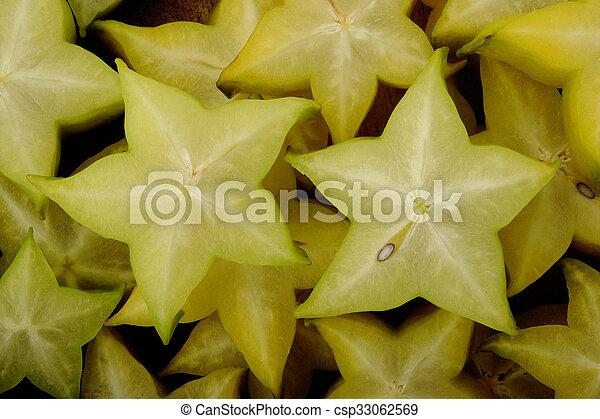 star fruit background