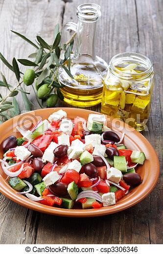 Greek salad - csp3306346