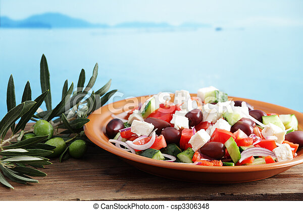Greek salad - csp3306348