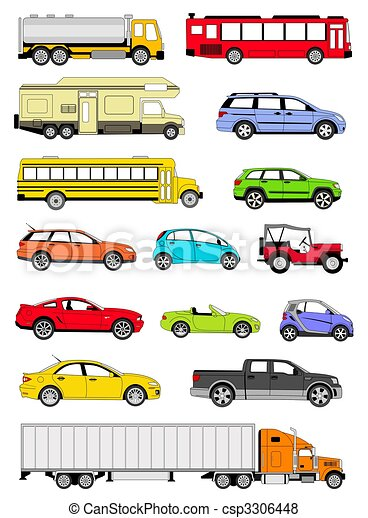 Transportation icons - csp3306448