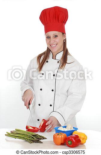 images de chef cuisinier femme femme porter chef cuistot csp3306575 recherchez des. Black Bedroom Furniture Sets. Home Design Ideas