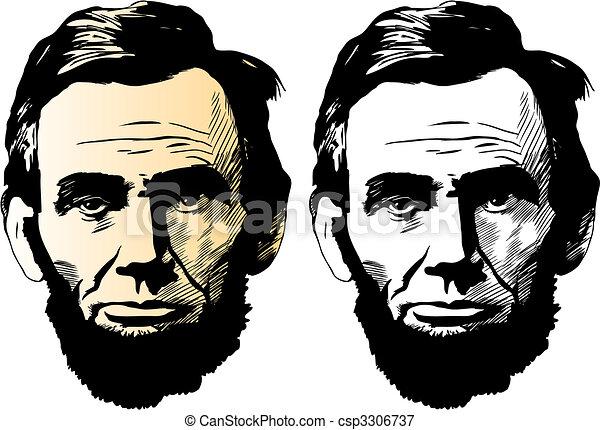 Abraham Lincoln - csp3306737