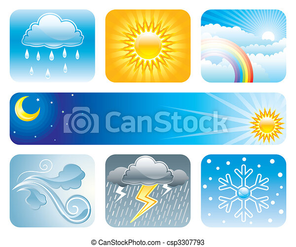Weather And Climate - csp3307793