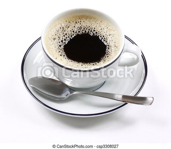 Espresso coffee - csp3308027