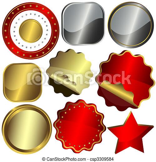 Set Of Design Elements (vector EPS 10) - csp3309584