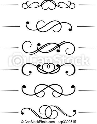 Swirl elements - csp3309815