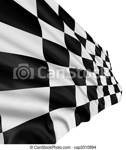 Checkered Flag - csp3310894