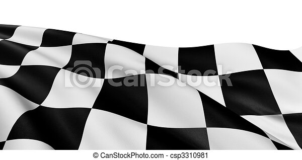 Checkered Flag - csp3310981