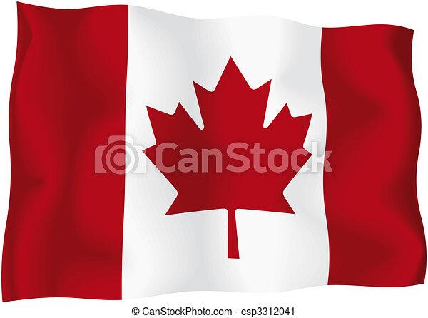 Canada - Canadian flag - csp3312041