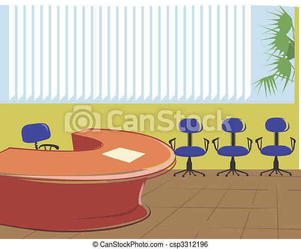 Stock Illustration Of Office Illustration Of A Office