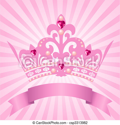 Princess crown - csp3313982