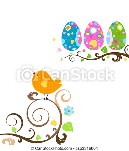 easter design - csp3316864