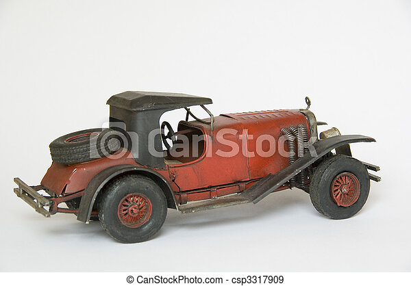 Vintage toy car - csp3317909