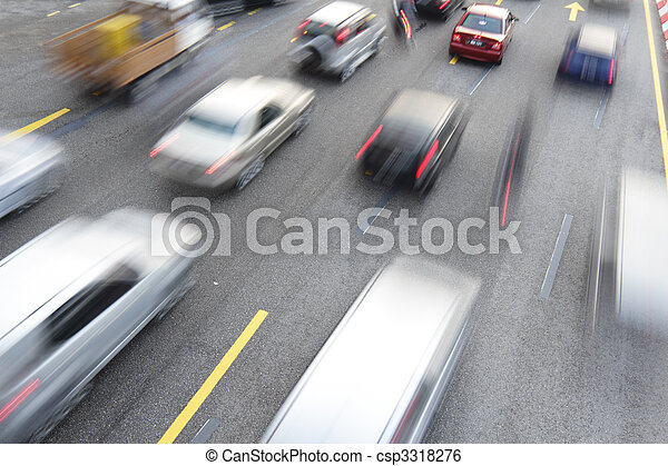 Traffic congestion - csp3318276