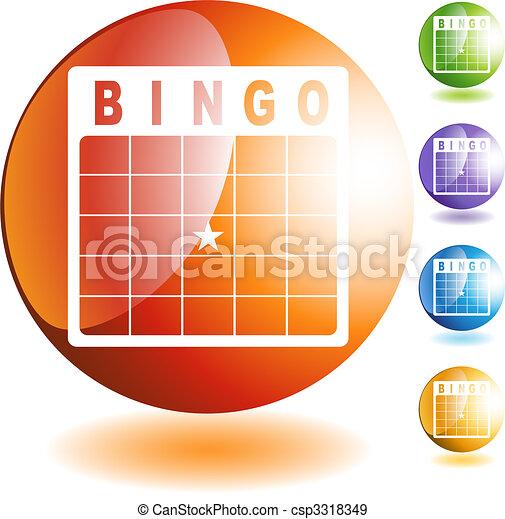 Bingo Card - csp3318349