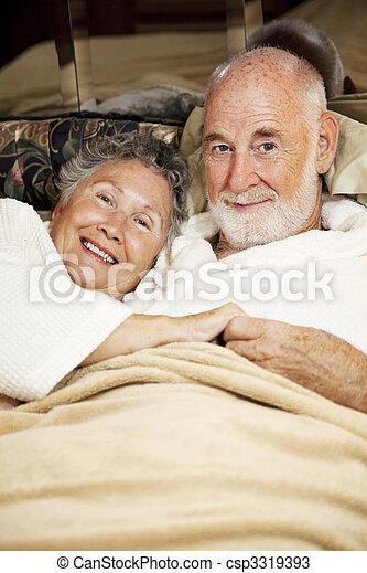 Sleepy Seniors - csp3319393