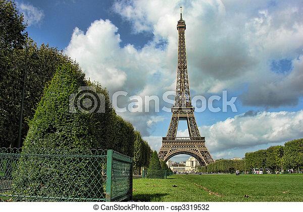 Paris in October - csp3319532