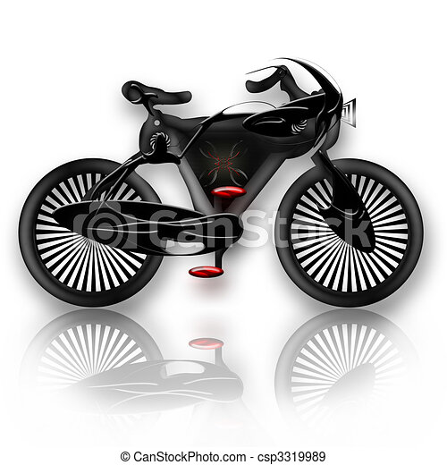 Bike insect styled - csp3319989