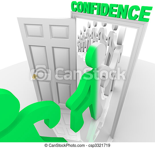 Stepping Through the Confidence Doorway - csp3321719