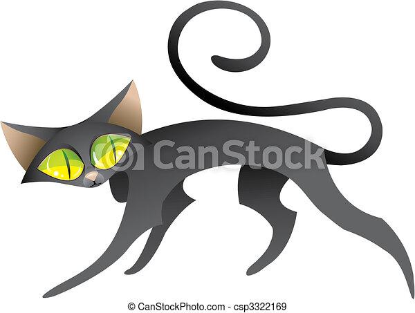 Black Cat - csp3322169