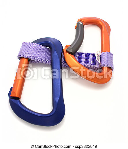 Carabiner and express  - csp3322849