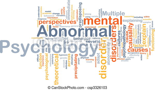 what is abnormal psychology pdf