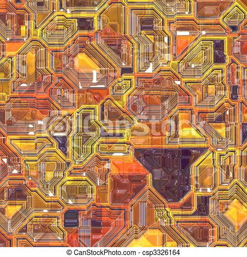 Technology circuitry backgrund - csp3326164