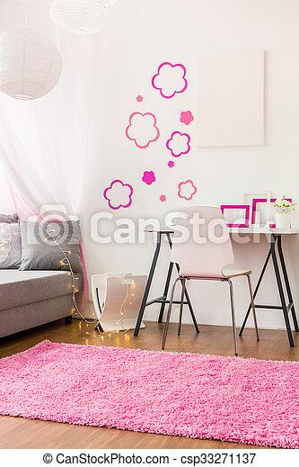 Stock foto 39 s van meisje tiener beauty kamer interieur van beauty csp33271137 zoek - Kamer idee deco tiener meisje ...