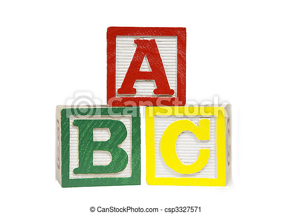 Alphabet Blocks - csp3327571