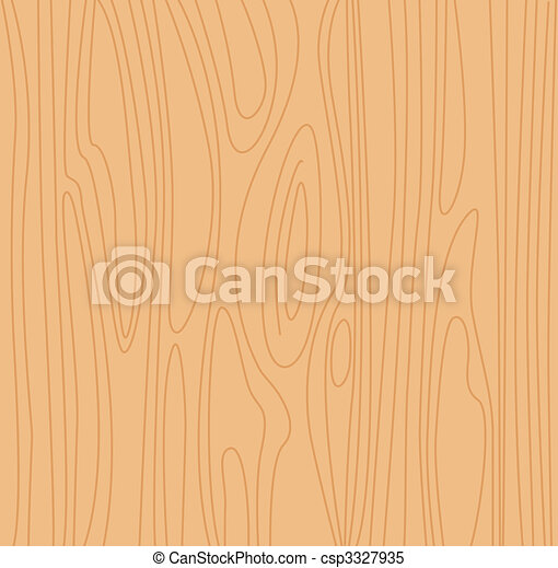 Natural beige wood background - csp3327935