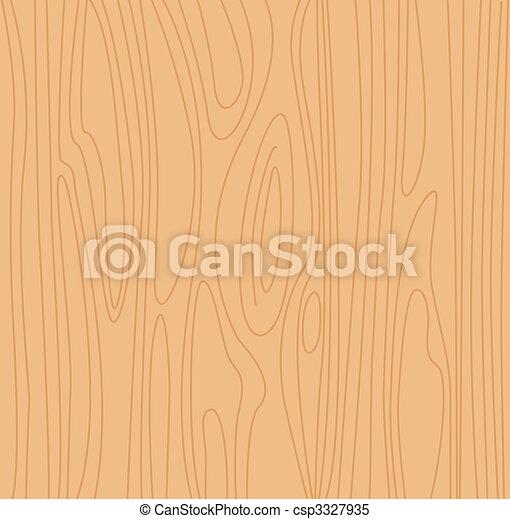 Natural beige wood background - csp3327935