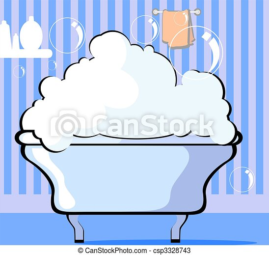 Bath tub	 - csp3328743