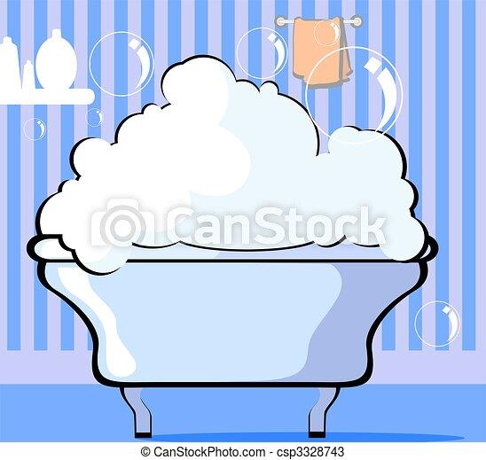 Bath tub - csp3328743