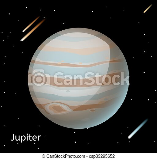 jupiter planet line drawings - photo #44